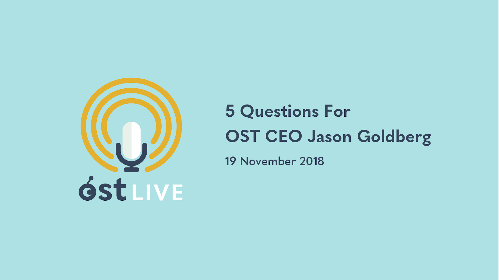 5 Questions For OST CEO Jason Goldberg