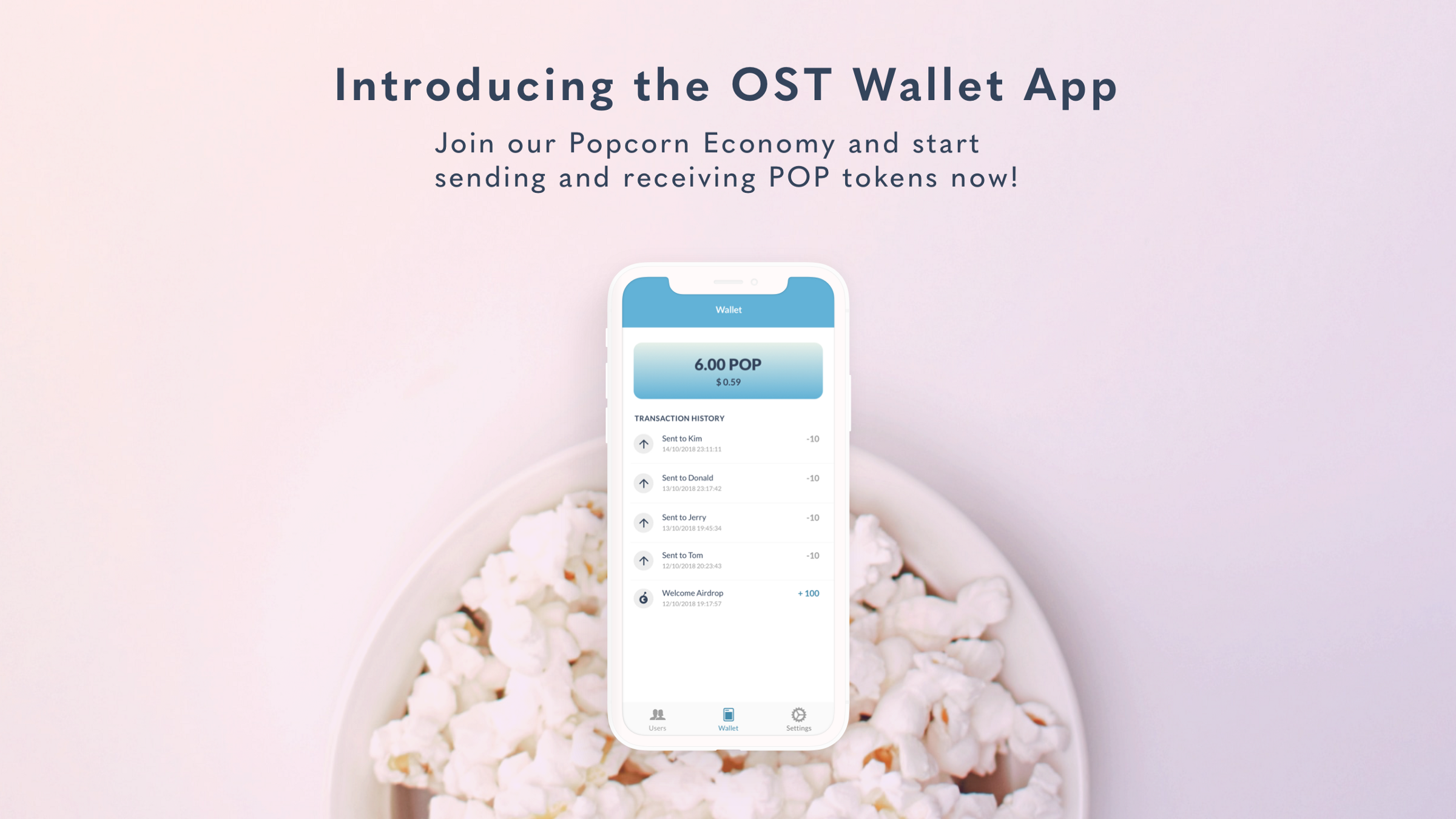 Introducing OST Wallet Popcorn