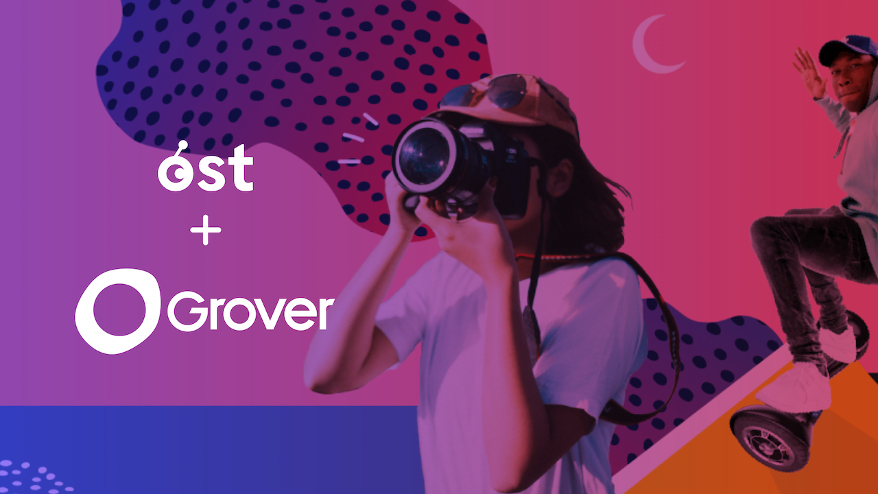 Grover and OST Announce Partnership to Develop Blockchain-Powered Loyalty for Subscribing to Technology Products