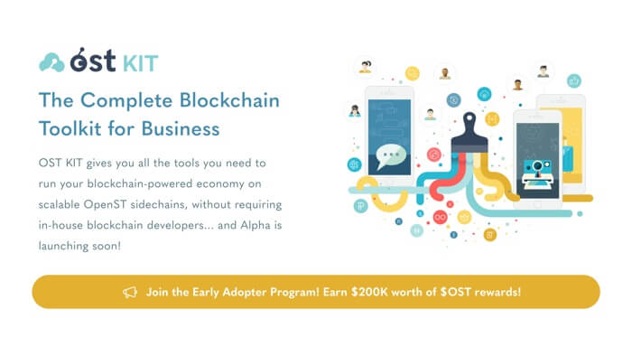Join the OST KIT⍺ Early Adopter Program & Earn $OST!