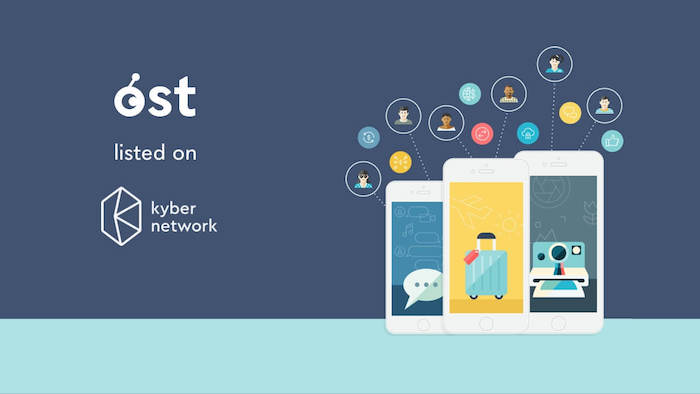 OST has been added to Kyber Network