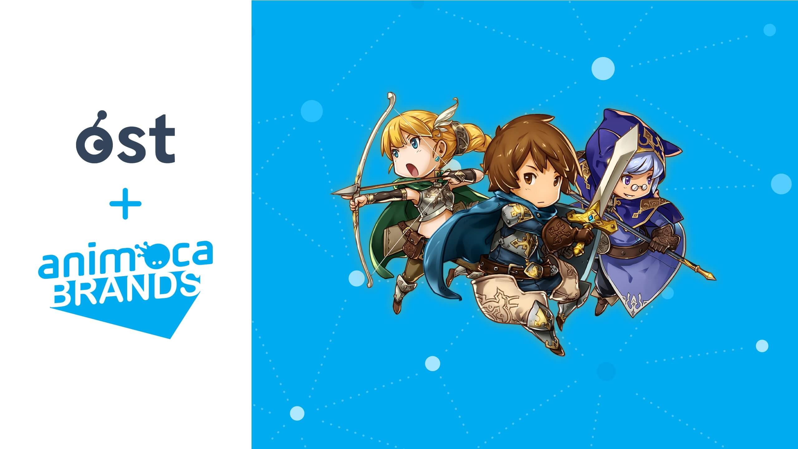 Animoca Brands and OST Announce Partnership to Develop Blockchain-Powered Games