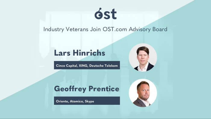 Industry Veterans Lars Hinrichs and Geoffrey Prentice Join OST Inc. Advisory Board