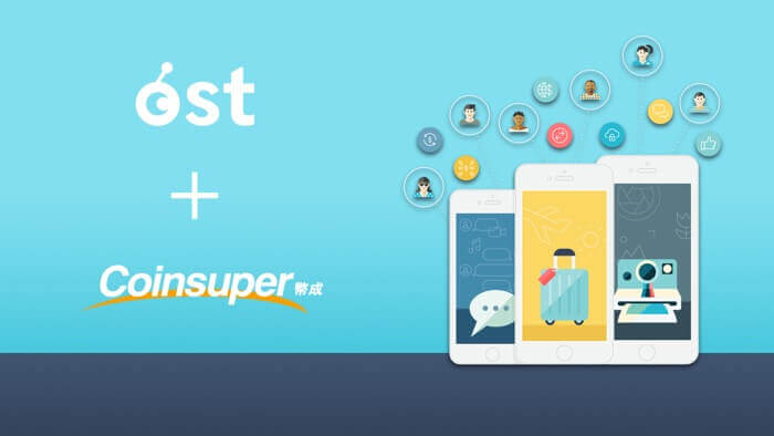 OST Now Available on Hong Kong's Coinsuper Exchange