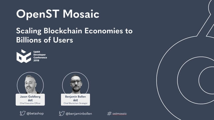Worldwide Introduction of OpenST Mosaic Protocol: Scaling Blockchain Economies to Billions of Users